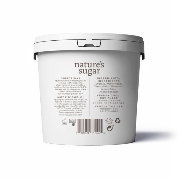 Nature's Sugar Wax Regular Back